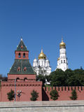 Ryssland MoskvaKreml, Klocka torn Royaltyfria Bilder