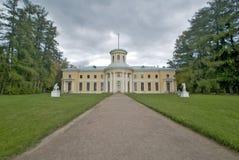 RYSSLAND MOSKVAREGION - SEPTEMBER 30, 2008: Säteri Arkhangelskoye Royaltyfri Fotografi