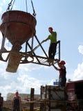 RYSSLAND NADYM - JUNI 6, 2011: Ð-¡ orporation GAZPROM i Novy Ureng Arkivfoton