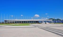Ryssland olympiska Sochi parkerar Tennisakademi Royaltyfri Bild