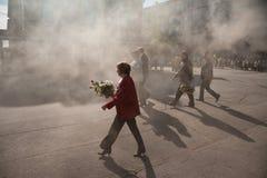 RYSSLAND PENZA - KAN 1: Demonstration för May dag Arkivfoto
