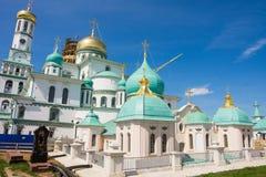 Ryssland 23rd jerusalem juni kloster nya russia för 2007 Arkivbild