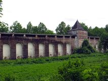 Ryssland rostov Rostovsky Borisoglebsky kloster Royaltyfri Bild