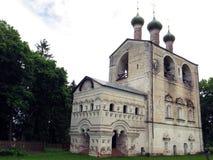Ryssland Rostov Rostovsky Borisoglebsky kloster balkongdörrpoggioreale fördärvar Royaltyfri Fotografi