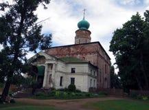 Ryssland rostov Rostovsky Borisoglebsky kloster Kyrka av Boris och Gleb Royaltyfria Bilder