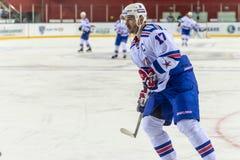 RYSSLAND SEPTEMBER 10: Ilya Kovalchuk. Royaltyfria Bilder