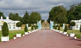 Ryssland St Petersburg, Catherine Palace Arkivfoton