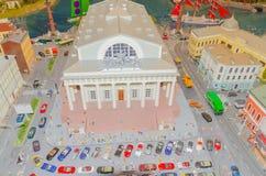 Ryssland St Petersburg, Januari 18, 2018 - utställningen av G Arkivfoton