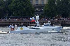 Ryssland St Petersburg, Juli 30, 2017 a-ceremonieln ståtar för th Royaltyfri Foto