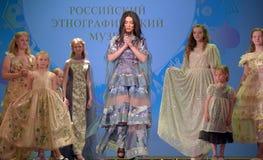 Ryssland St Petersburg 01,06,2019 medmänsklig festival XVII av barns kreativitet arkivfoton