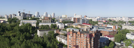 Ryssland Stad Ekaterinburg royaltyfria foton