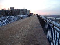 Ryssland Tur till centrala Ryssland Nizhny Novgorod Vinter arkivfoton