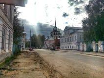 Ryssland veliky ustyug Royaltyfri Fotografi