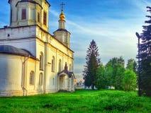 Ryssland veliky ustyug Arkivbild