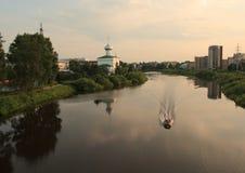 Ryssland Vologda royaltyfri fotografi