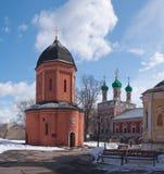 Ryssland Vysokopetrovsky kloster i Moskva Fotografering för Bildbyråer