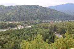 RyssSibirien berg Altai Fotografering för Bildbyråer