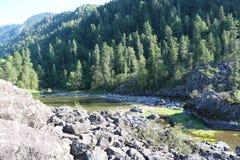 RyssSibirien berg Altai Royaltyfria Foton
