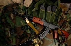 ryssvapen Terrorist Weapons arkivfoto