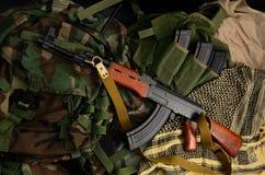 ryssvapen Terrorist Weapons arkivbild
