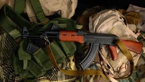 ryssvapen Terrorist Weapons royaltyfria foton