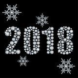 Rystals del ¡ di Ð 2018 anni Immagine Stock