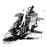 rysunek abstrakcyjne Obrazy Royalty Free