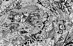 rysunek abstrakcyjne Obraz Royalty Free