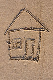 rysunek dom zdjęcie stock