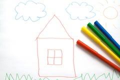 rysunek jest dziecko Fotografia Stock