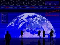 rysunki projektowe i wykonawcze handlowa Zdjęcia Stock