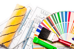 rysunki target1187_1_ rolkowego ołówka biel Fotografia Stock