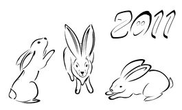 rysunkowe linie Fotografia Stock