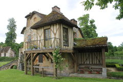 rysunkowego domu ilustracyjna wiejska nakreślenia wioska obraz stock