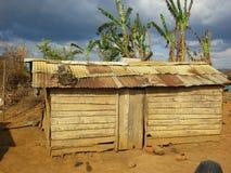 rysunkowego domu ilustracyjna wiejska nakreślenia wioska Zdjęcia Stock
