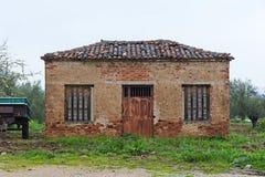 rysunkowego domu ilustracyjna wiejska nakreślenia wioska Fotografia Stock