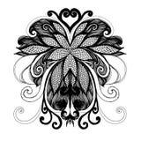 rysunkowej elementów wolnej ręki naturalny stylizowany Zdjęcie Royalty Free