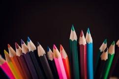 Rysunkowi ołówki Zdjęcie Stock