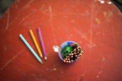 Rysunkowi ołówki Obrazy Stock