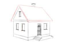 rysunkowy dom Zdjęcie Stock