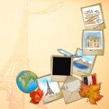 rysunkowy famouse France punkt zwrotny Zdjęcie Royalty Free