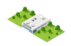 Rysunkowy mapy inżynierii projekt ilustracji