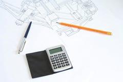 rysunkowy ołówek Zdjęcia Stock