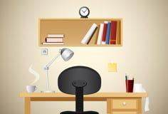 rysunkowy prosty stół Obraz Royalty Free