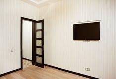 rysunkowy pusty wewnętrzny pokój obrazy stock