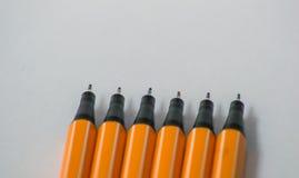 Rysunkowych ołówków zamknięta up fotografia zdjęcie royalty free