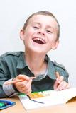 rysunku śliczny dzieciak Zdjęcie Stock