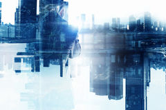 In rythm of big city Stock Image