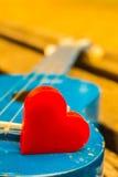 Rythme de coeur de la musique Photos libres de droits