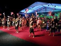 Rythme de Kinabalu Image libre de droits